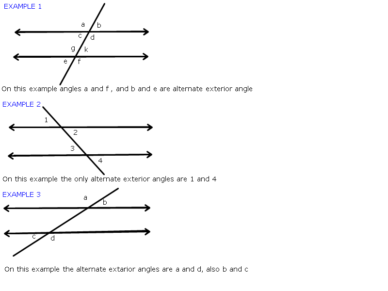 Alternate Interior And Exterior Angles Pictures To Pin On Pinterest Pinsdaddy
